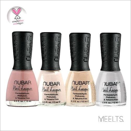 Esmaltes Nubar - Pinkish Blend, Sun Sparkle, Classic Camel e Earthen