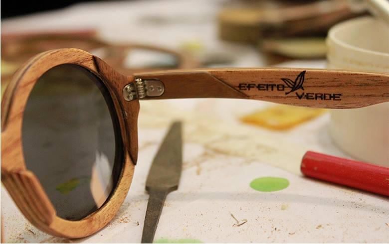 Óculos de Madeira   Animal Chic por Ju Diniz a3e879e7e8