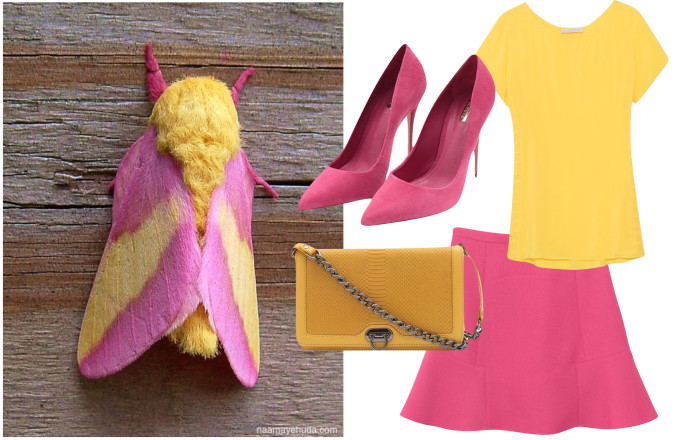 bloganimalchic Blog Animal Chic look moda rosa amarelo pink blog 01