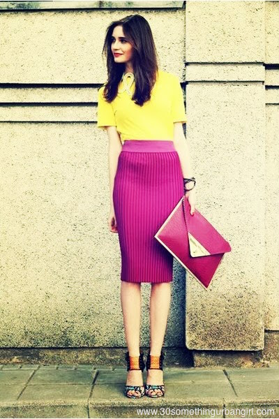 bloganimalchic Blog Animal Chic look moda rosa amarelo pink blog 05