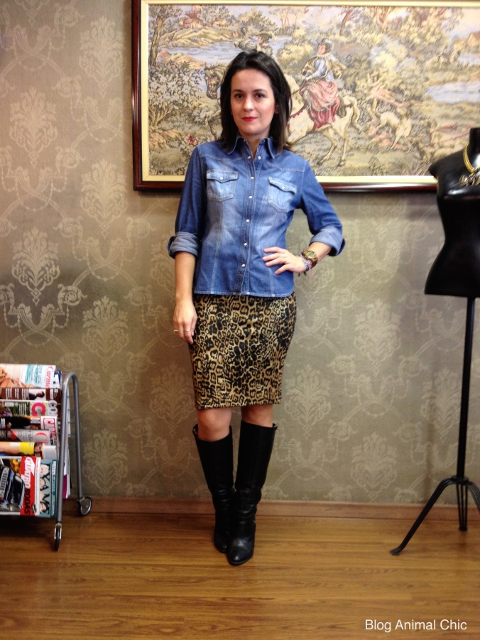Look do Dia Blog Animal Chic Animal Print Onca 01
