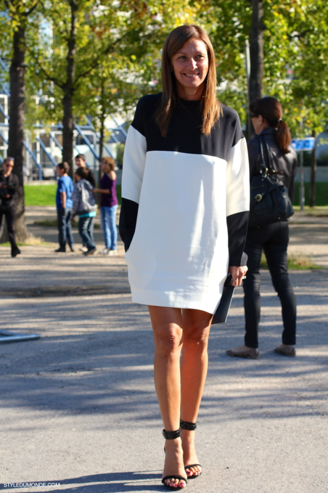 Black-White-Celine-dress-by-STYLEDUMONDE